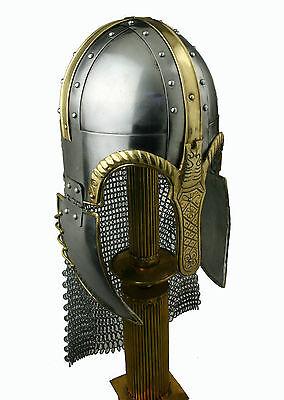Coppergate Wikinger Helm Rüstung Angelsachsen Mittelalter Larp Reenactment R258