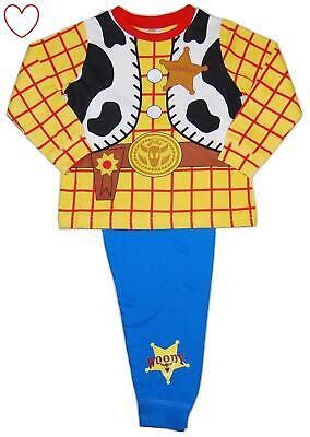 Disney Boys Toy Story Pyjamas Kids Woody Pajamas Pj Set - Pyjama Boy Kostüm