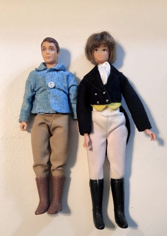 Vintage Breyer Rider Dolls with Clothes Lot Of 2