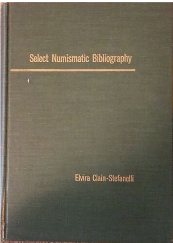 Select Numismatic Bibliography, 1st edition