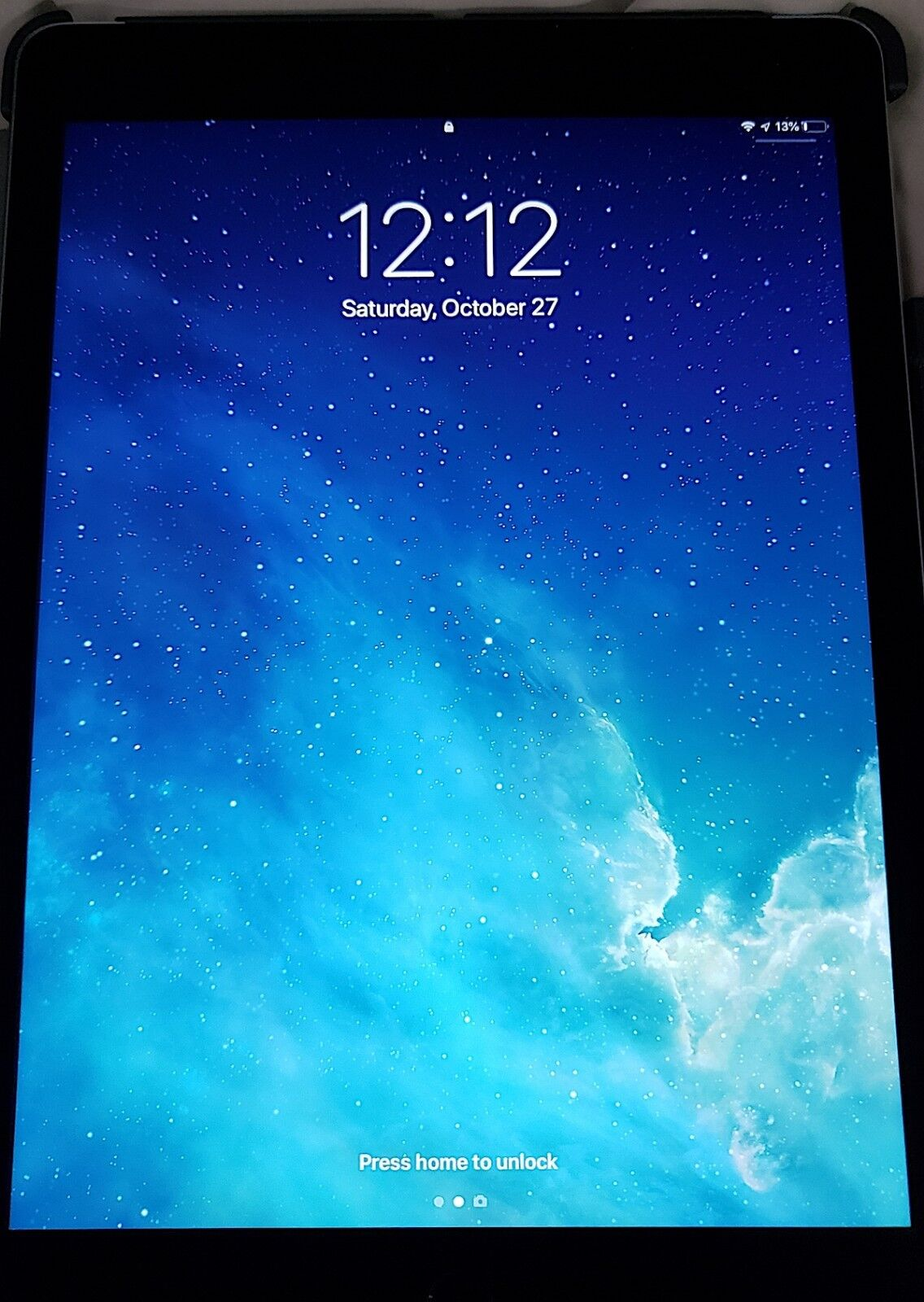 Apple iPad Air 2 16GB, Wi-Fi + Cellular (UNLOCKED), 9.7in - Space Gray A1567 OBO