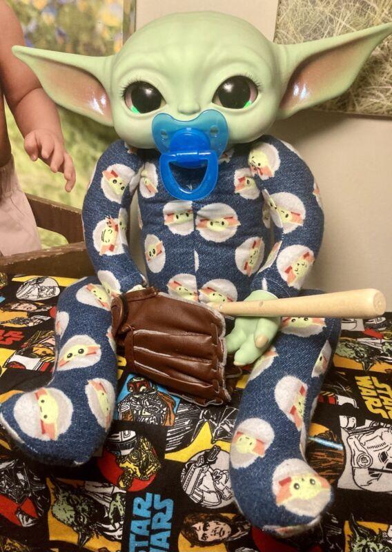 Custom Printed Body Reborn Baby Yoda Grogu Doll
