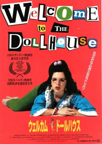 Welcome to the Dollhouse 1995 Japanese Chirashi Flyer Movie Poster B5