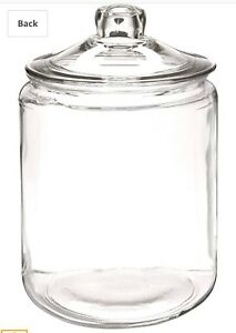 2,  two gallon glass storage container