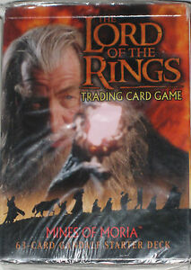 LORD-OF-THE-RINGS-TRADING-CARD-GAME-MINES-OF-MORIA-GANDALF-STARTER-DECK-63-CARDS