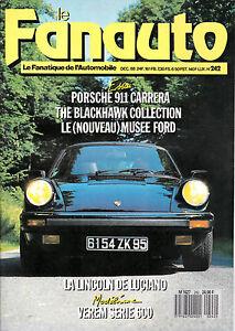 LE-FANAUTO-N-242-PORSCHE-911-CARRERA-1988-MUSEE-FORD-LINCOLN-DE-LUCKY-LUCIANO