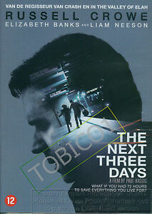 THE-NEXT-THREE-DAYS-RUSSEL-CROWE-LIAM-NEESON-DVD-NIEUW-SEALED