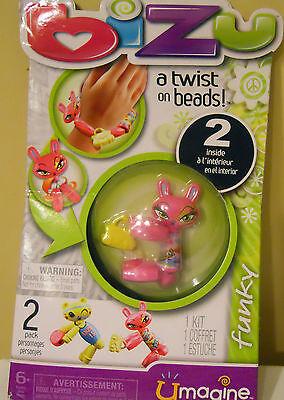 Bizu A Twist On Bead Toy Kit (2 Inside) Umagine Funky Wirst Craft Nip Girls