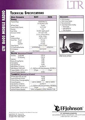 Ef Johnson 8605  800 Mhz Ltr