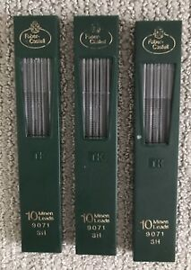 Faber-Castell TK Clutch Pencil Leads (3 Packages, Brand New)