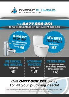 OnPoint Plumbing & Drainage Qld 24/7 General Maintenance