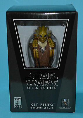 "Gentle Giant Star Wars Classics 5"" Bust Limited Edition - Kit Fisto *Rare*"