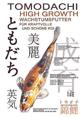 Wachstumsfutter für Koi (€4,98/kg) Koifutter Megawachstum Tomodachi 5kg, 3mm