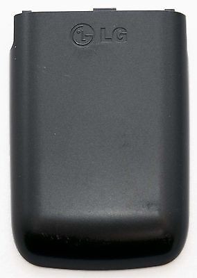 GENUINE LG A340 A341 BATTERY COVER Door BLACK veritical flip phone back panel