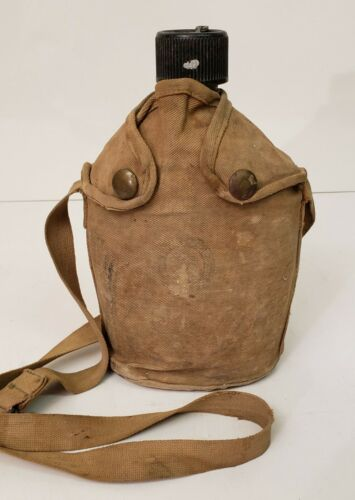 Boy Scouts of America Vintage 1945 Canteen and pouch
