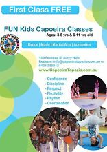 Free kids dance & martial arts class Surry Hills Inner Sydney Preview