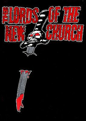 LORDS OF THE NEW CHURCH 1985 TOUR LARGE CONCERT TEE T SHIRT / STIV BATORS
