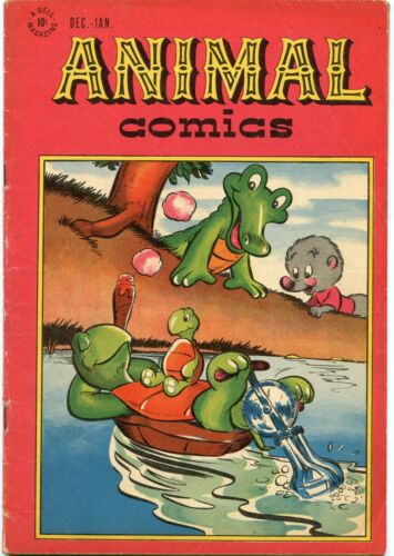 Animal Comics #24 Comic Book VG 4.0 Dell 1947 See My Store