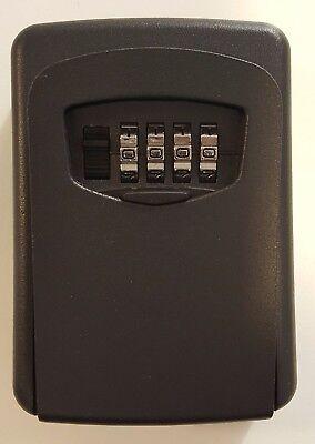 Key Access Lock Box - Wall Mounted Lock Box Heavy Duty 4-digit Combination Lock