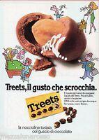 Pubblicità Advertising 1976 Noccioline Treets Il Gusto Che Scrocchia (2) -  - ebay.it