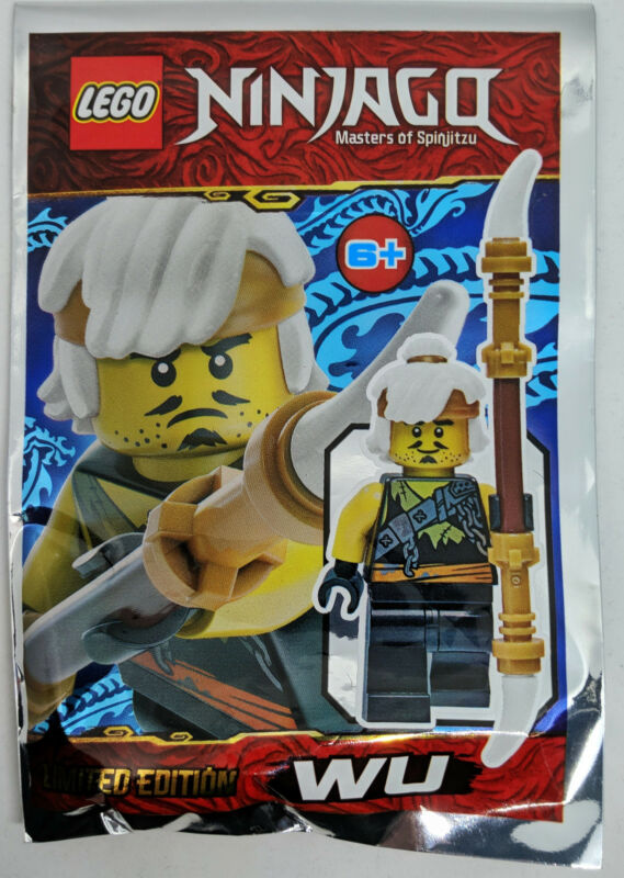 ORIGINAL LEGO Ninjago Limited Edition Minifigure COLE 891839 FOIL PACK