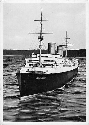 B98918 columbus doppelschrauben schnelldampfer  germany   ship bateaux