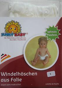 Windelhöschen Windelüberhosen Überhose Gummihose S-XL Sunnybaby