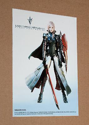 Lightning Returns Final Fantasy XIII Promo Sticker Square Enix