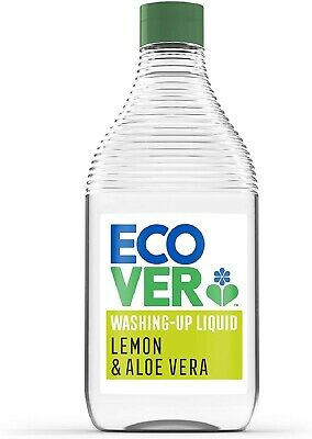 Ecover Washing Up Liquid Lemon & Aloe, 450 ml
