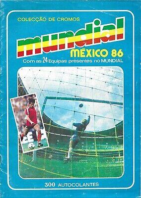 ALBUM CROMOS FUTBOL MUNDIAL MEJICO 86 MANIL FACSIMIL COMPLETO Y NUEVO