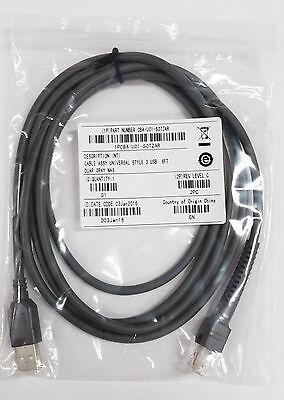 10 Pcs Ls2208 Cable 6.6 2m Symbol Barcode Scanner Ls1203 Ls4208 Cba-u01-s07zar