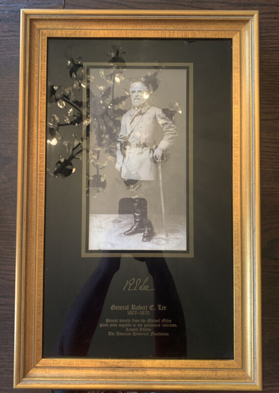 ROBERT E LEE PRINT LIMITED EDITION AMERICAN HISTORICAL FOUNDATION (20 X 13)
