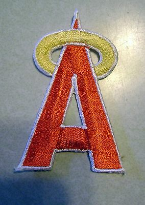 Anaheim Angels  Iron On   Embroidered Patch 2 1/2 inch Tall FREE SHIPPING