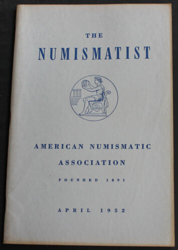 Antique Numismatist 1952 U.S. Coins In The Philippines + more Scarce Reference