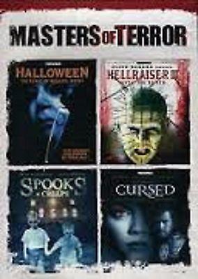 Halloween Spook Movie (Masters Of Terror, Halloween, Hellraiser,Cursed, Spooks DVD New)