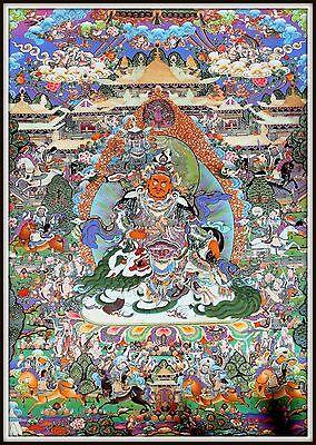 """Mysterious!   """"Thankga Fine Art Print from Tibet""""   (35"""" High x 25.75"""" Wide)"""