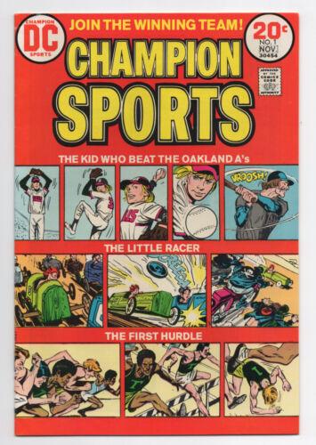DC COMICS  CHAMPION SPORTS  1  1973