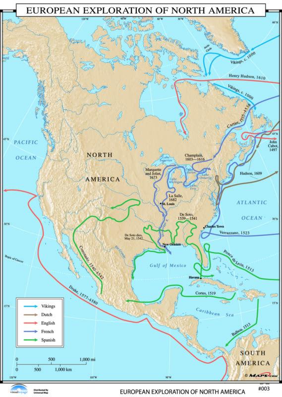 003 European Exploration of North America