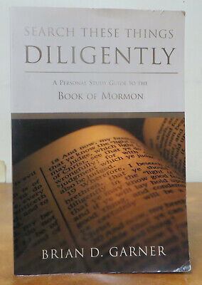 Search These Things Diligently - Study Guide - Book of Mormon PB2