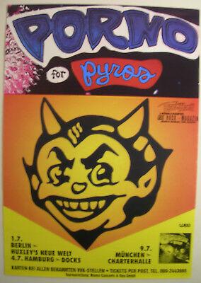 Porno For Pyros Concert Tour Poster 1993 Debut Lp