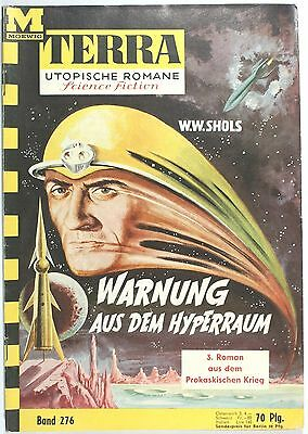 Terra utopische Romane Band 276 in Z1-2