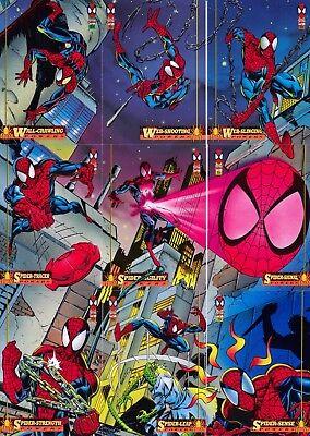 AMAZING SPIDER-MAN 1994 FLEER  COMPLETE BASE CARD SET OF 150 MARVEL
