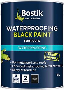 Bostik Waterproofing Black Paint