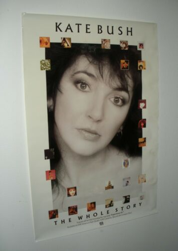"Vtg 1986 KATE BUSH The Whole Story Promo Poster! 24"" x 36""!"