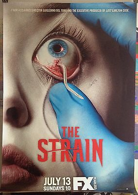 The Strain S1 Bus Shelter Poster Guillermo Del Toro FX SDCC The Shape of Water