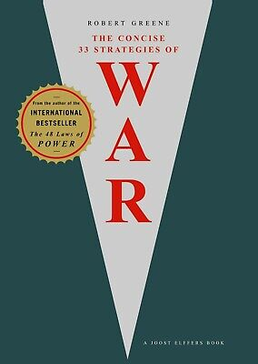 Concise 33 Strategies of War by Robert Greene (2007, Paperback) Book