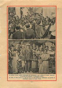 """Cardinal Verdier Soldats Malgache Exposition coloniale Paris 1931 ILLUSTRATION - France - Commentaires du vendeur : """"OCCASION"""" - France"""