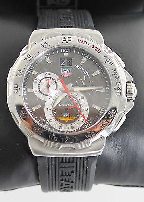 Tag Heuer Mens Formula 1 INDY 500 CAH101A.FT6026 Rubber QUARTZ Chronograph Watch