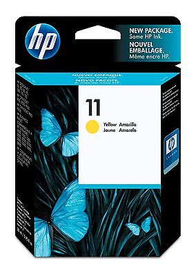 (HEWLETT-PACKARD 11 Cartridge / Model #: C4838A / Color: YELLOW / BRAND NEW OEM)