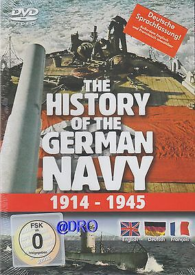 DVD + Die Geschichte der Deutschen Marine + 1914-1945 + Deutsche Version + Krieg Die Marine Dvd